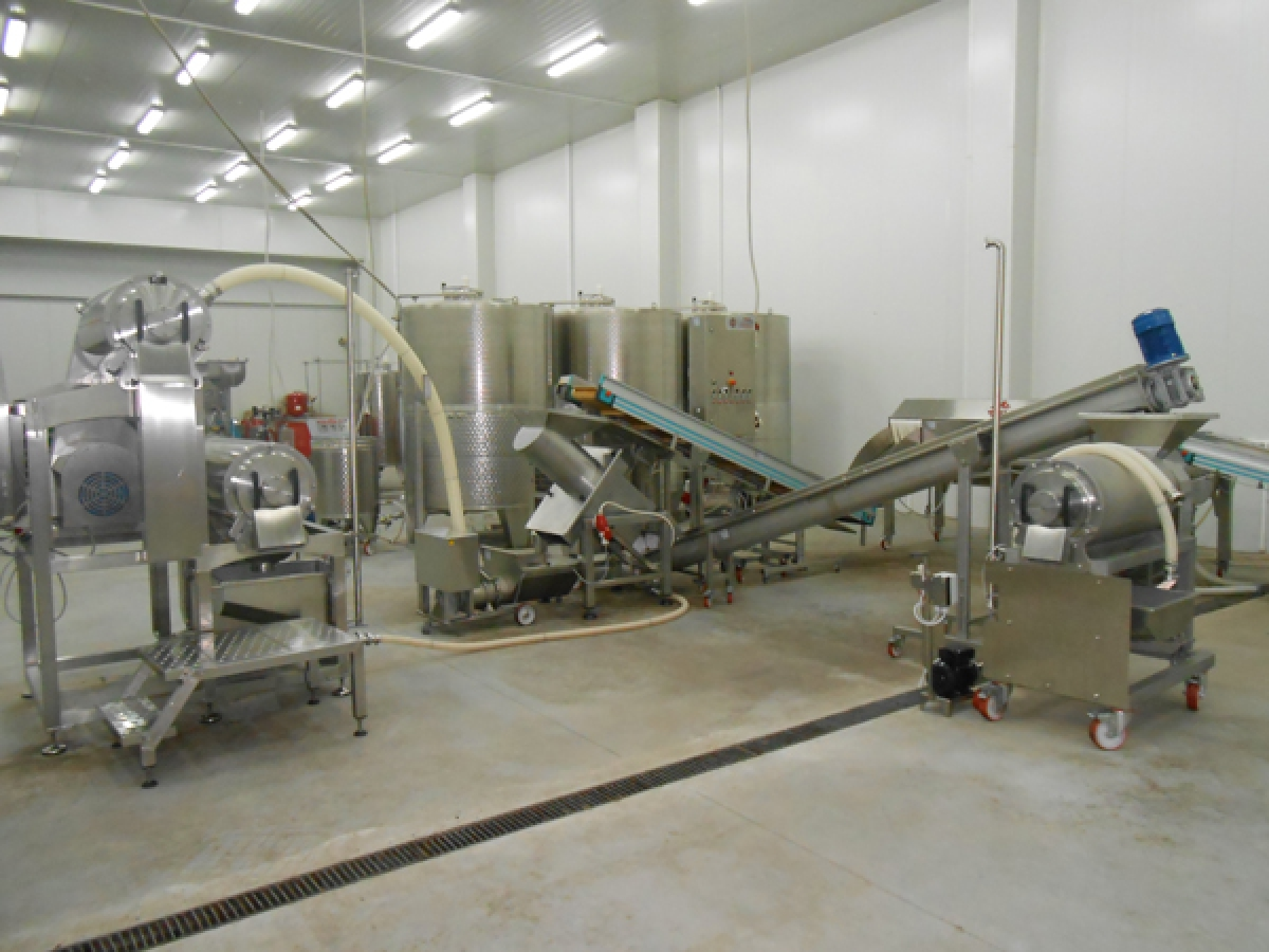 FACILITY FOR FRUIT PRODUCTION